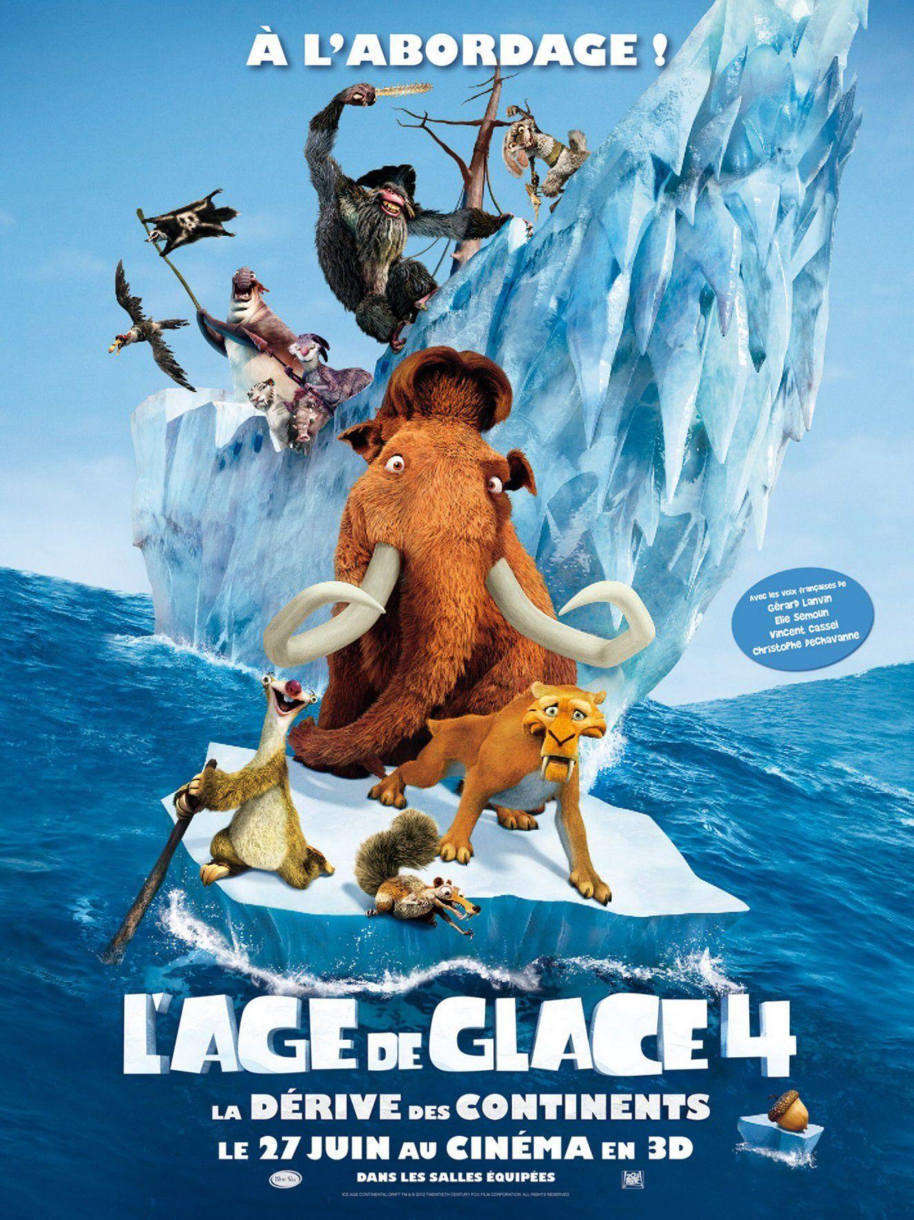 L'Âge de glace 4 : La Dérive des continents - Long-métrage d'animation (2012)