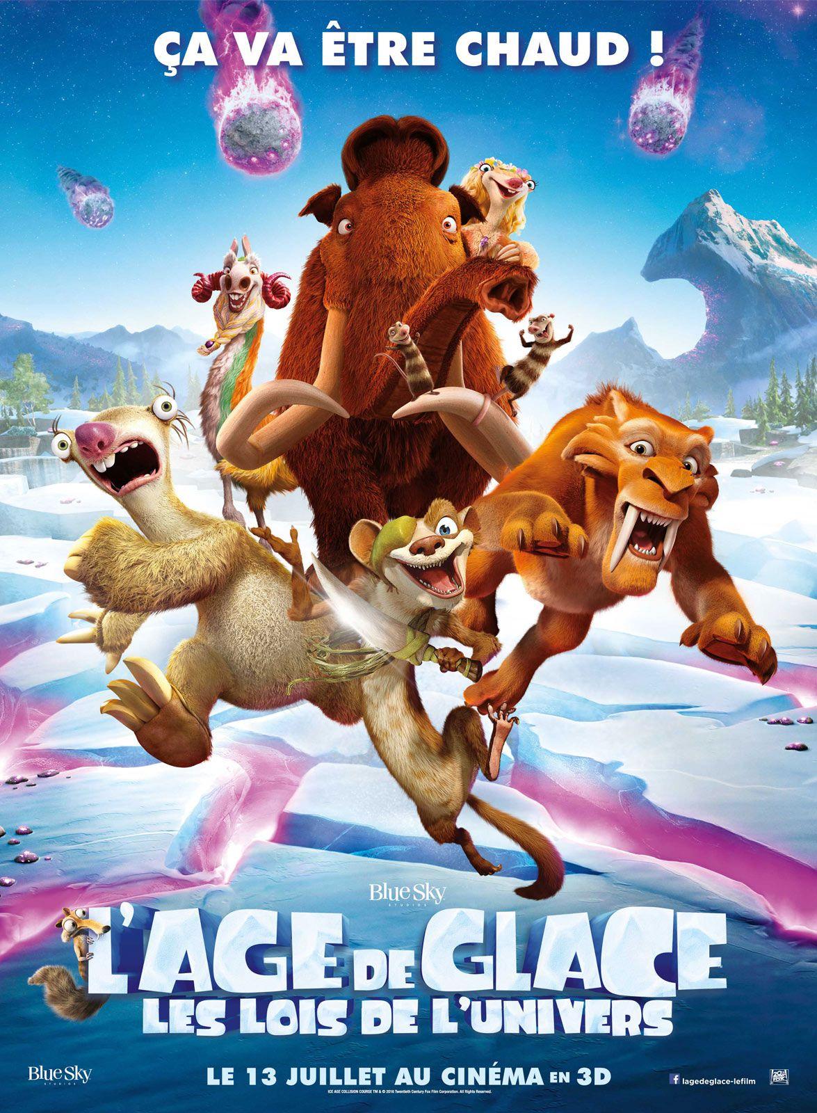 L'Âge de glace : Les Lois de l'univers - Long-métrage d'animation (2016)