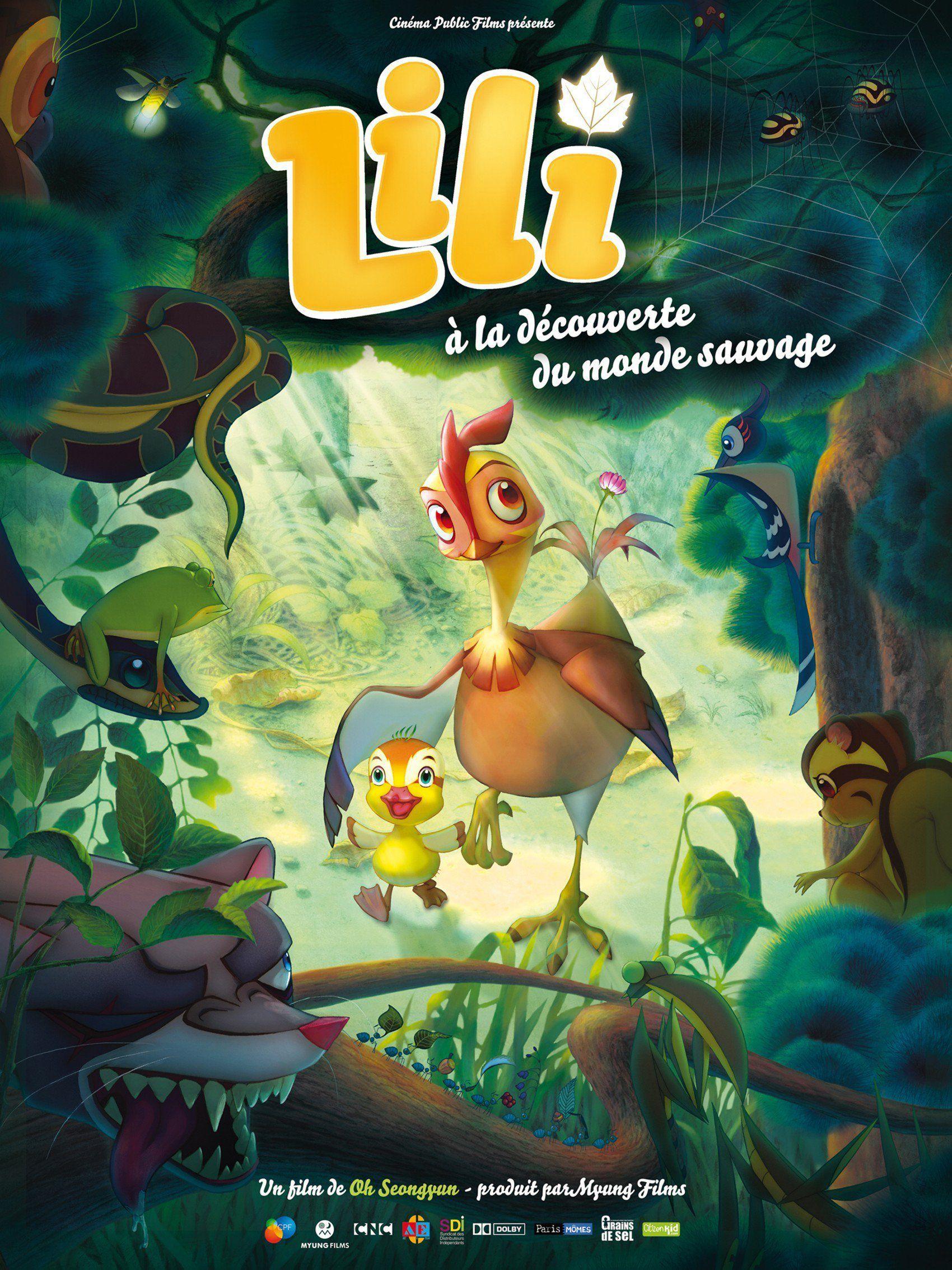 Lili à la découverte du monde sauvage - Long-métrage d'animation (2011)