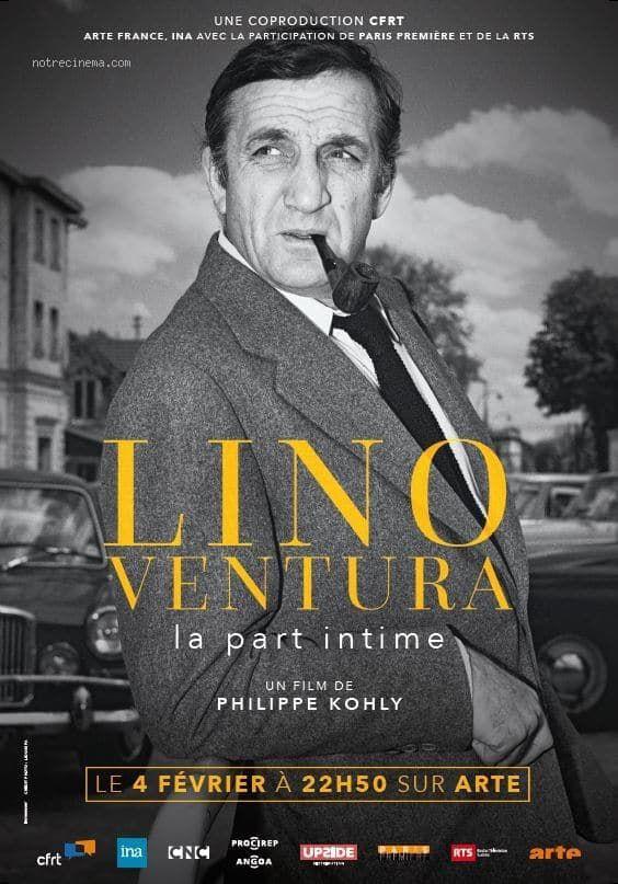 Lino Ventura - la part intime - Documentaire (2018)