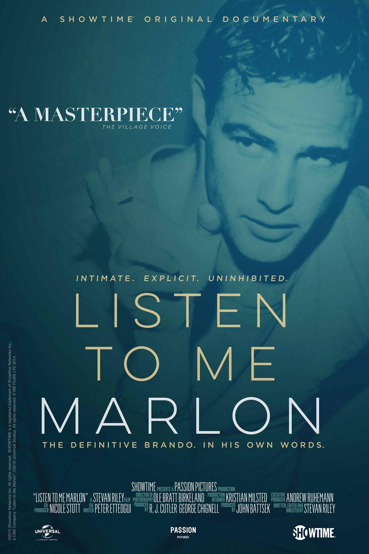 Listen to Me Marlon - Documentaire (2015)