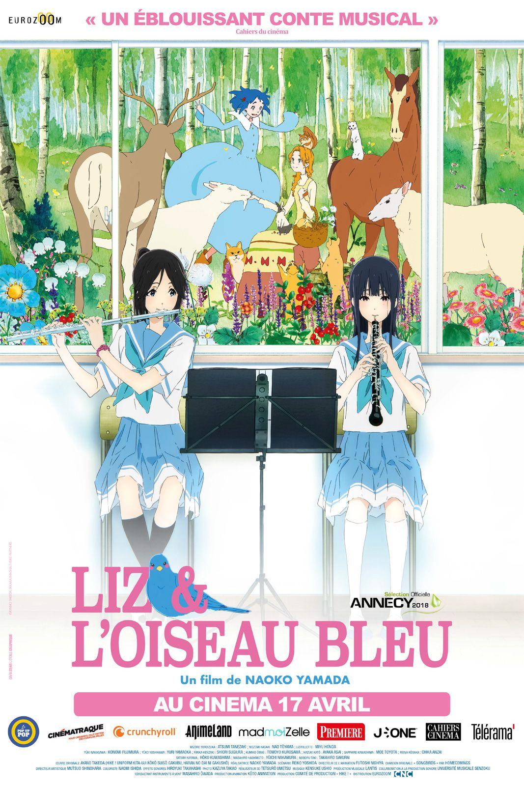 Liz et l'Oiseau bleu - Long-métrage d'animation (2019)