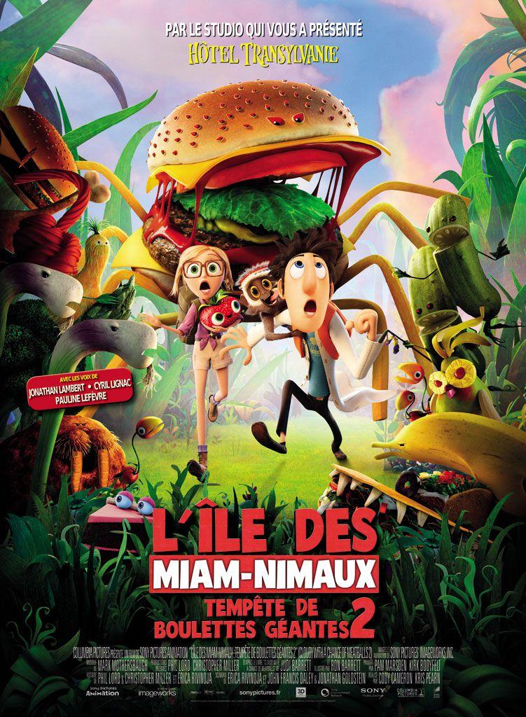 L'Île des Miam-Nimaux - Tempête de boulettes géantes 2 - Long-métrage d'animation (2013)