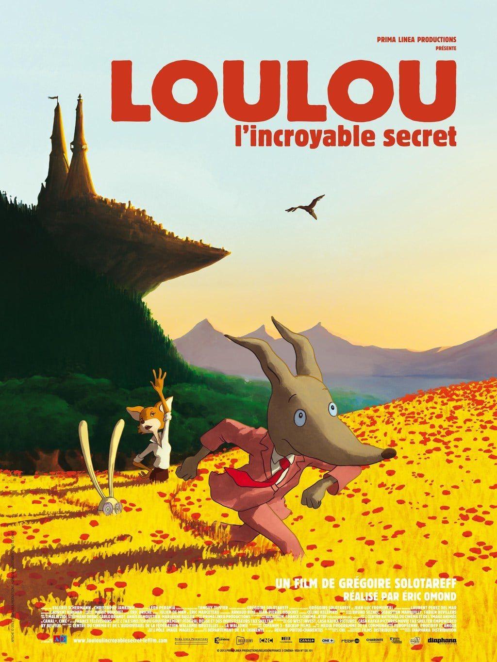 Loulou : L'Incroyable Secret - Long-métrage d'animation (2013)