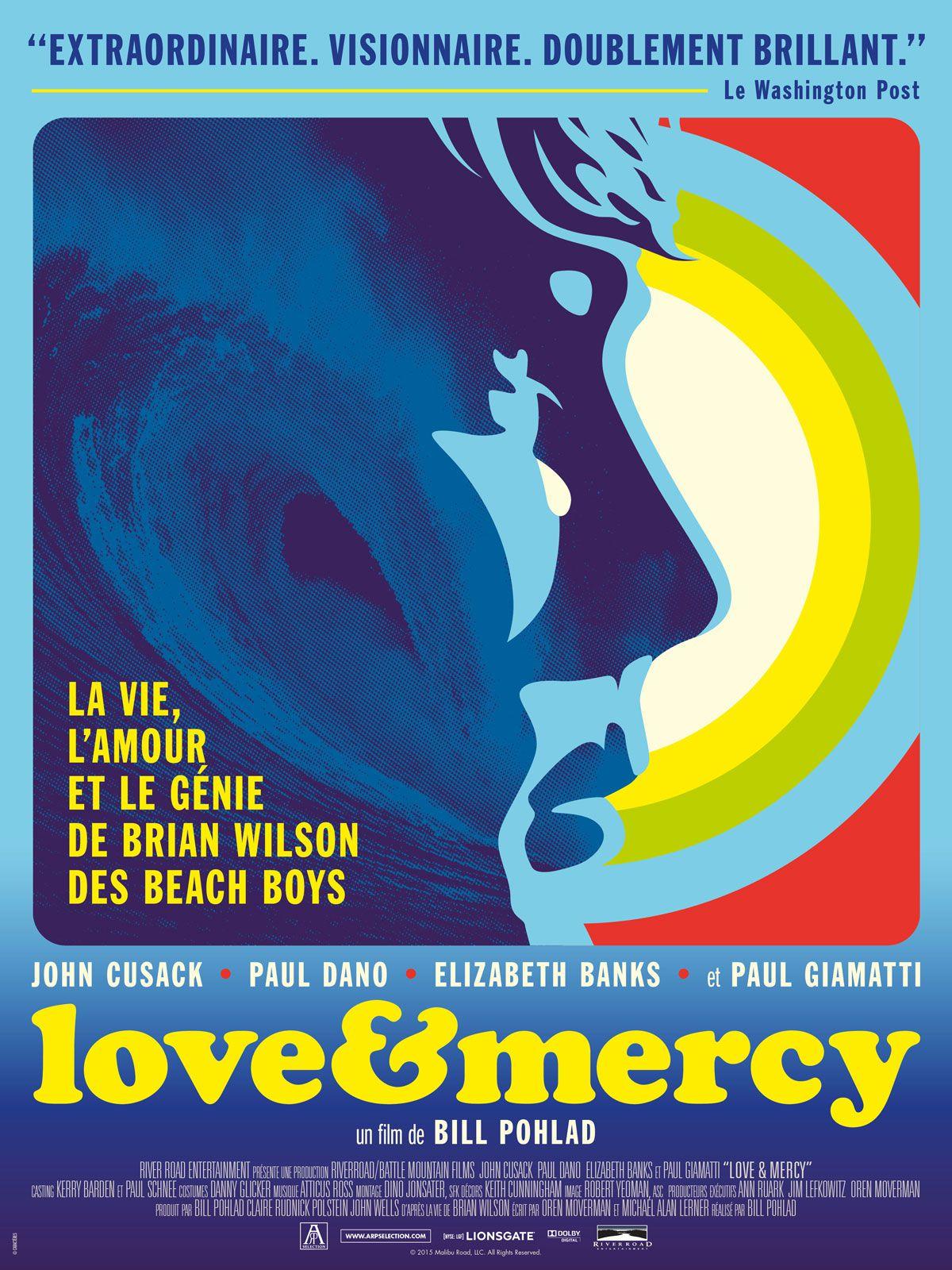 Love & Mercy : La Véritable Histoire de Brian Wilson des Beach Boys - Film (2015)