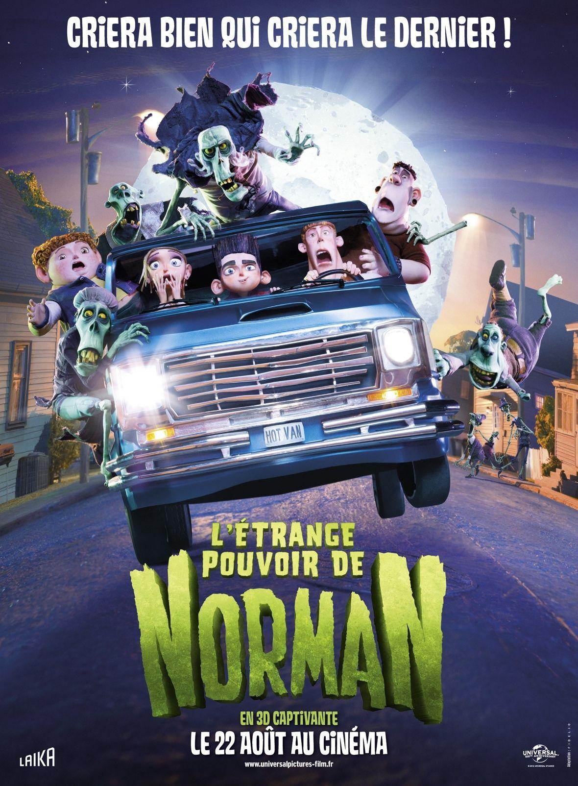 L'Étrange Pouvoir de Norman - Long-métrage d'animation (2012)