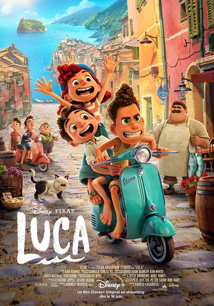 Luca - Long-métrage d'animation (2021)
