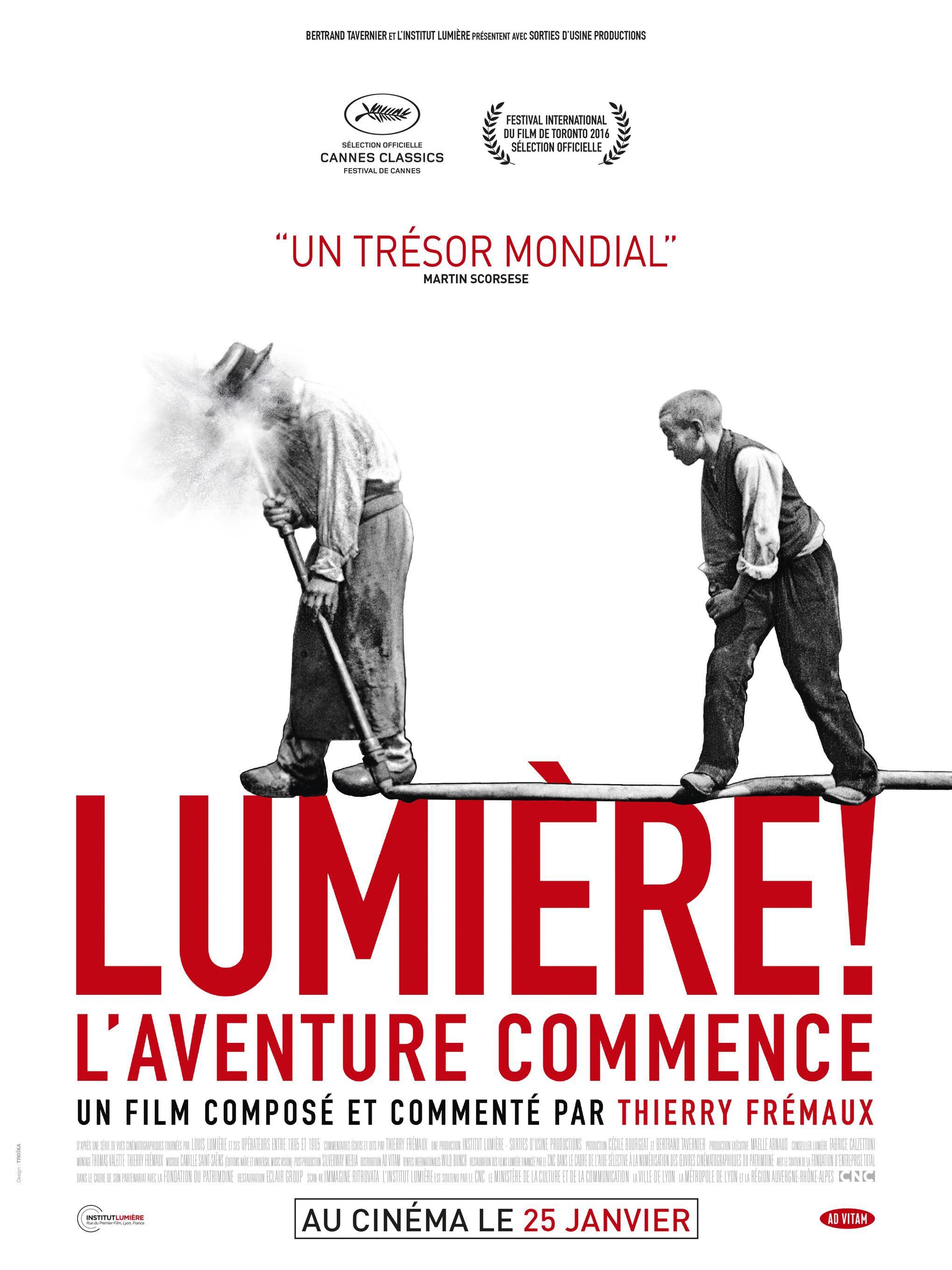 Lumière ! L'aventure commence - Documentaire (2017)