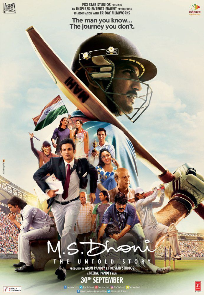 M.S Dhoni: The Untold Story - Film (2016)