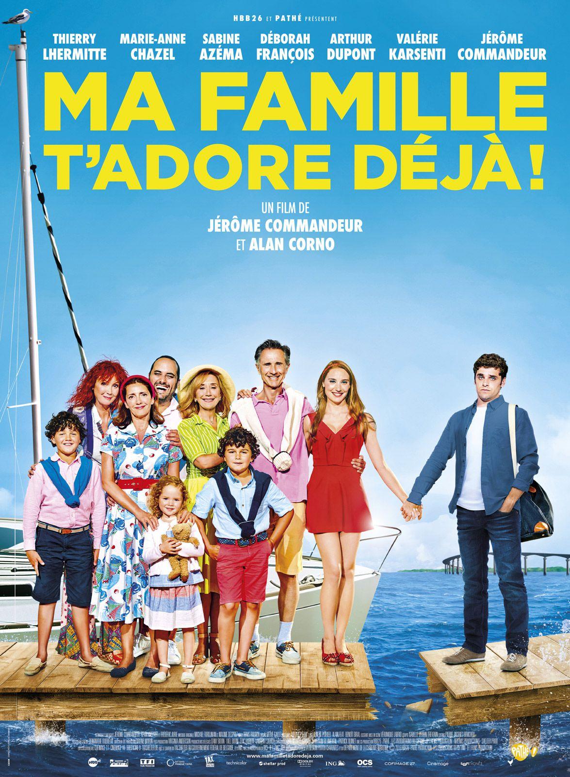 Ma famille t'adore déjà ! - Film (2016)