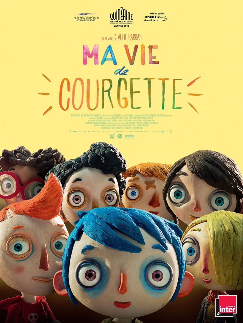 Ma vie de Courgette - Long-métrage d'animation (2016)