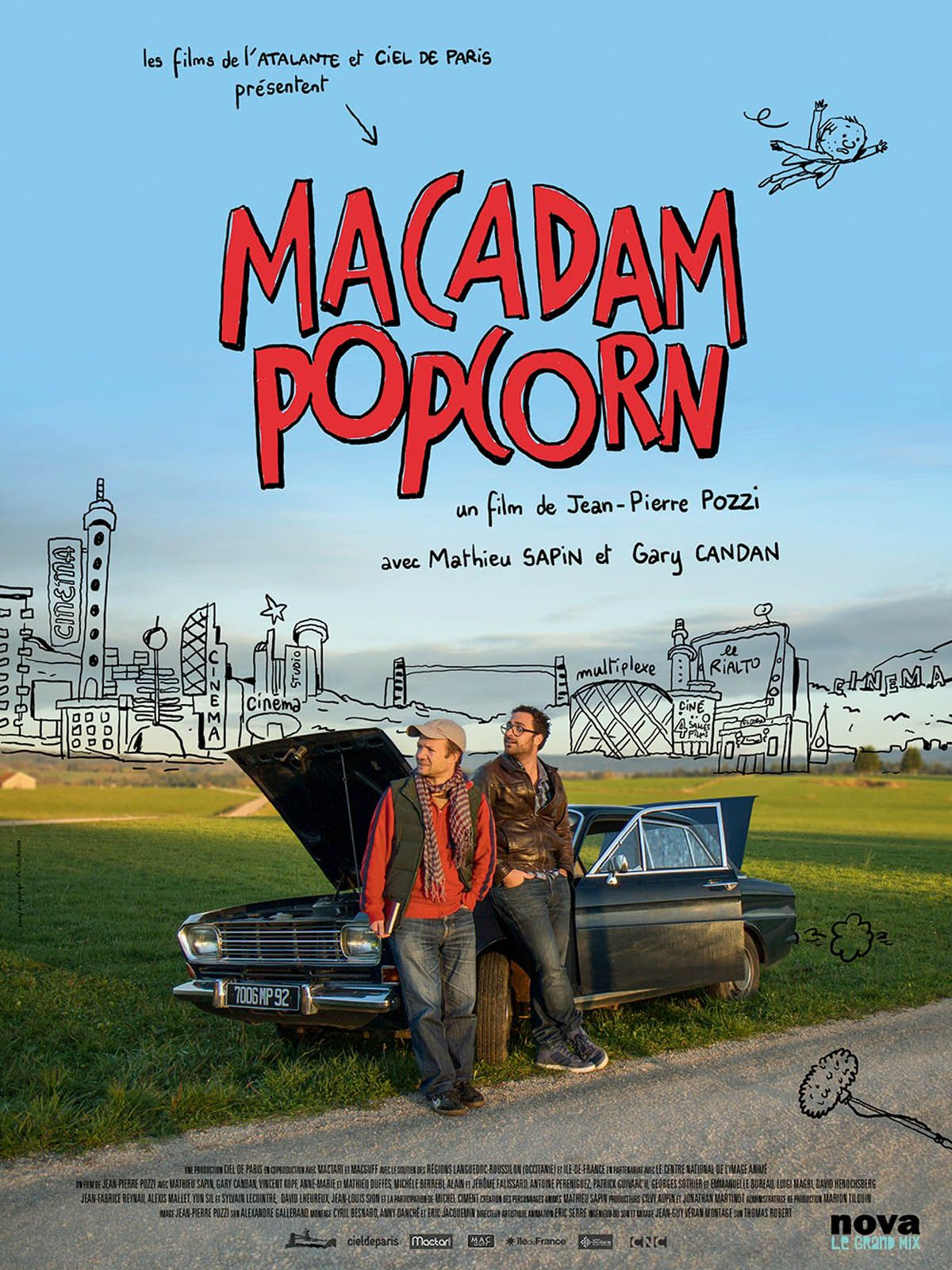 Macadam Popcorn - Documentaire (2017)