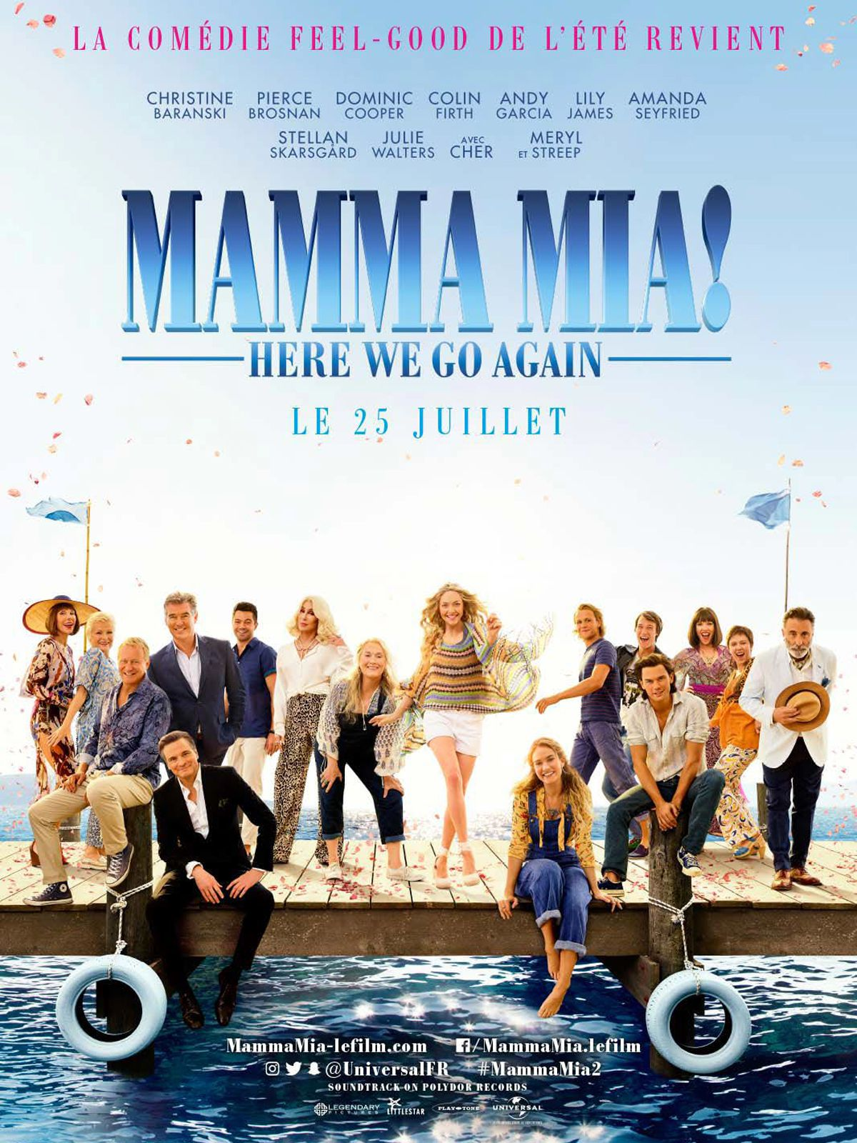 Mamma Mia! Here We Go Again - Film (2018)