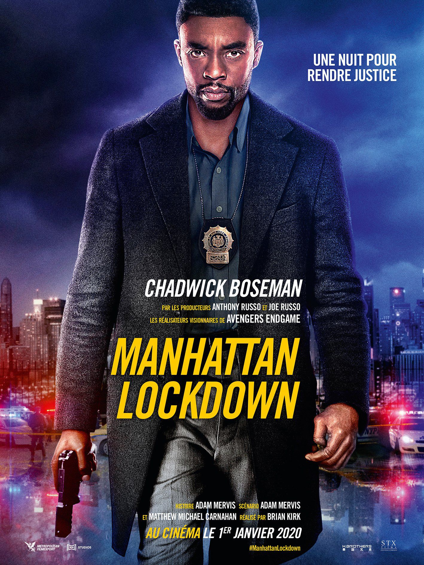 Manhattan Lockdown - Film (2020)