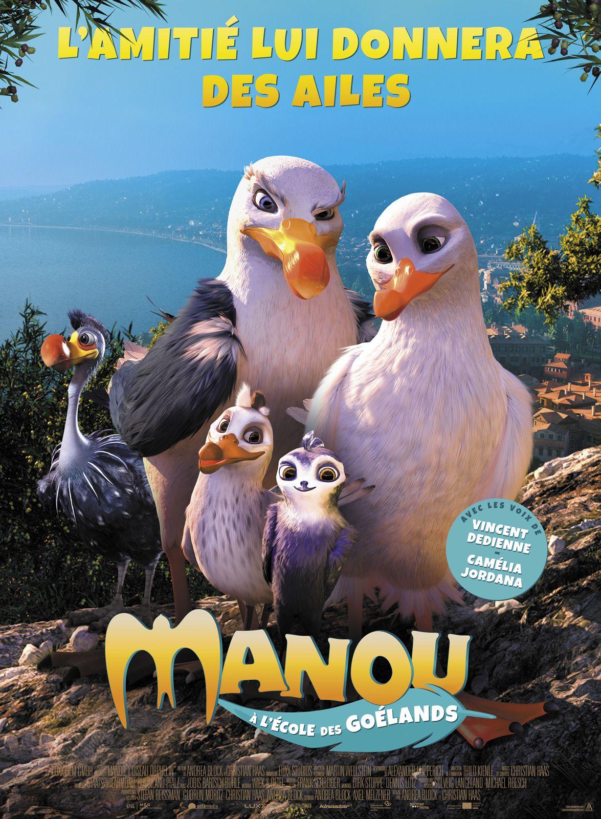 Manou à l'école des goélands - Long-métrage d'animation (2019)