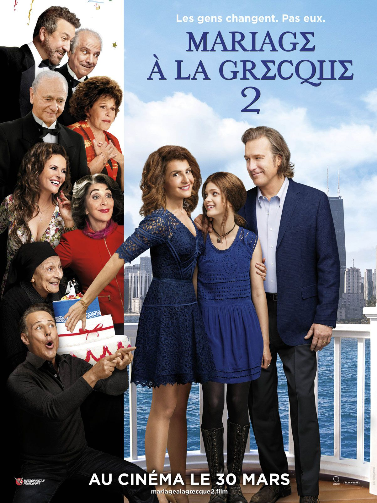 Mariage à la grecque 2 - Film (2016)