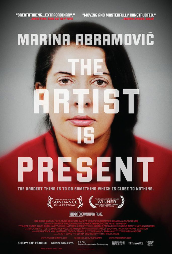 Marina Abramovic: The Artist Is Present - Documentaire (2012)