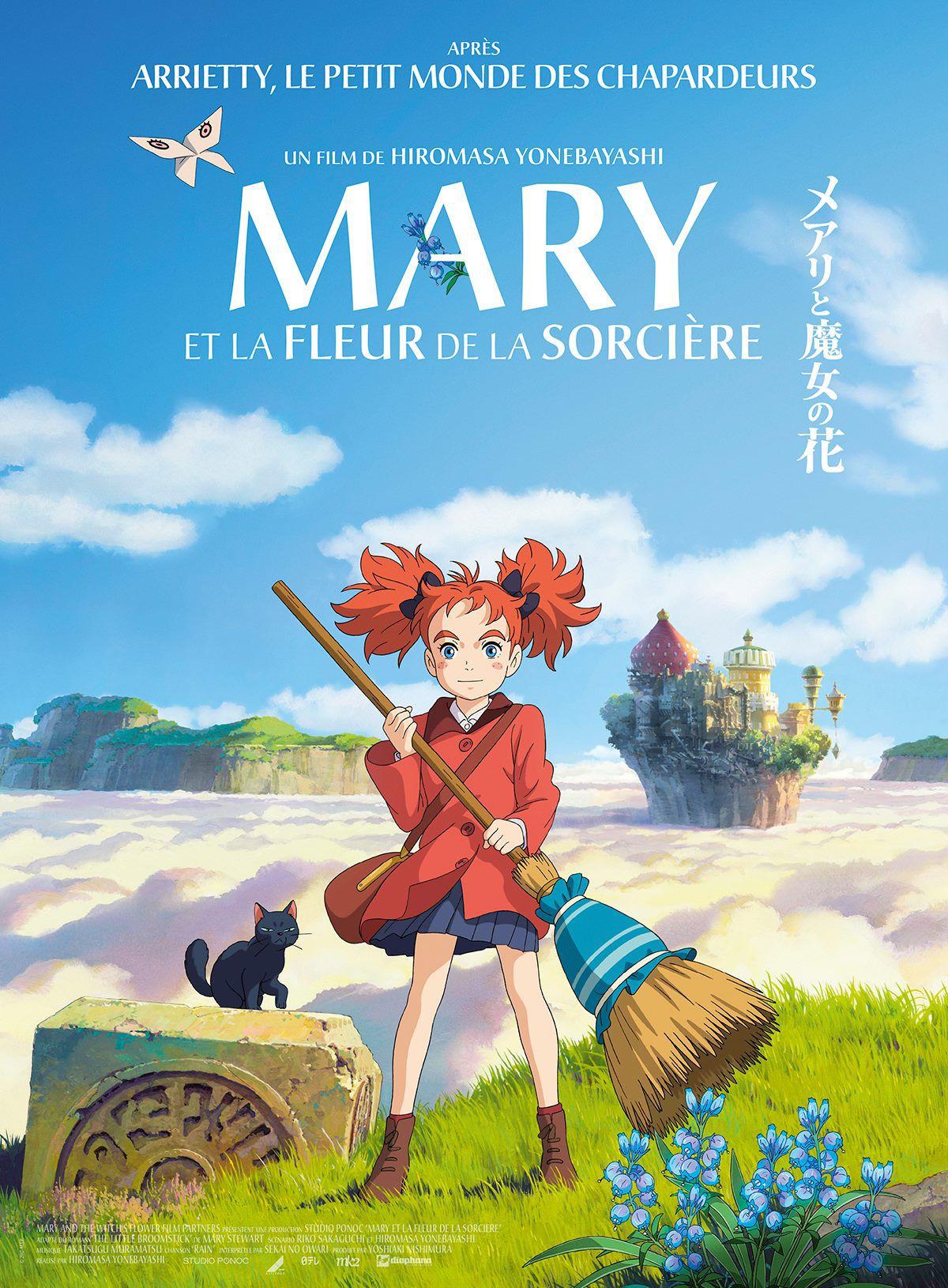 Mary et la Fleur de la sorcière - Long-métrage d'animation (2018)