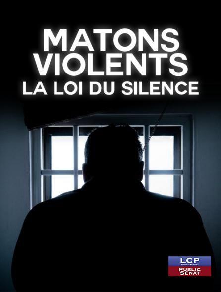 Matons violents la loi du silence - Documentaire (2017)