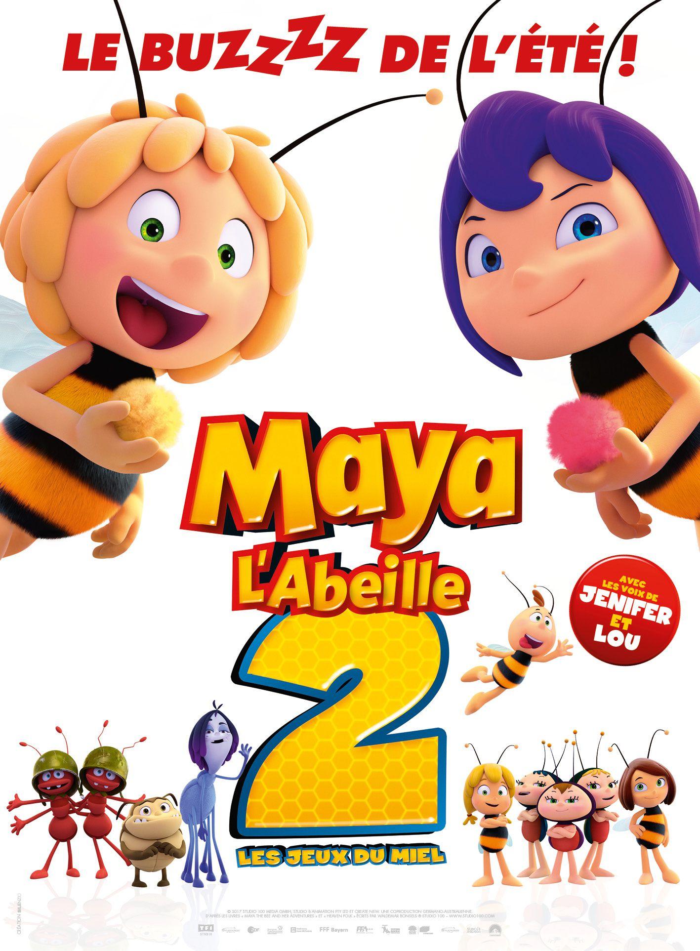 Maya l'abeille 2 : Les Jeux du miel - Long-métrage d'animation (2018)