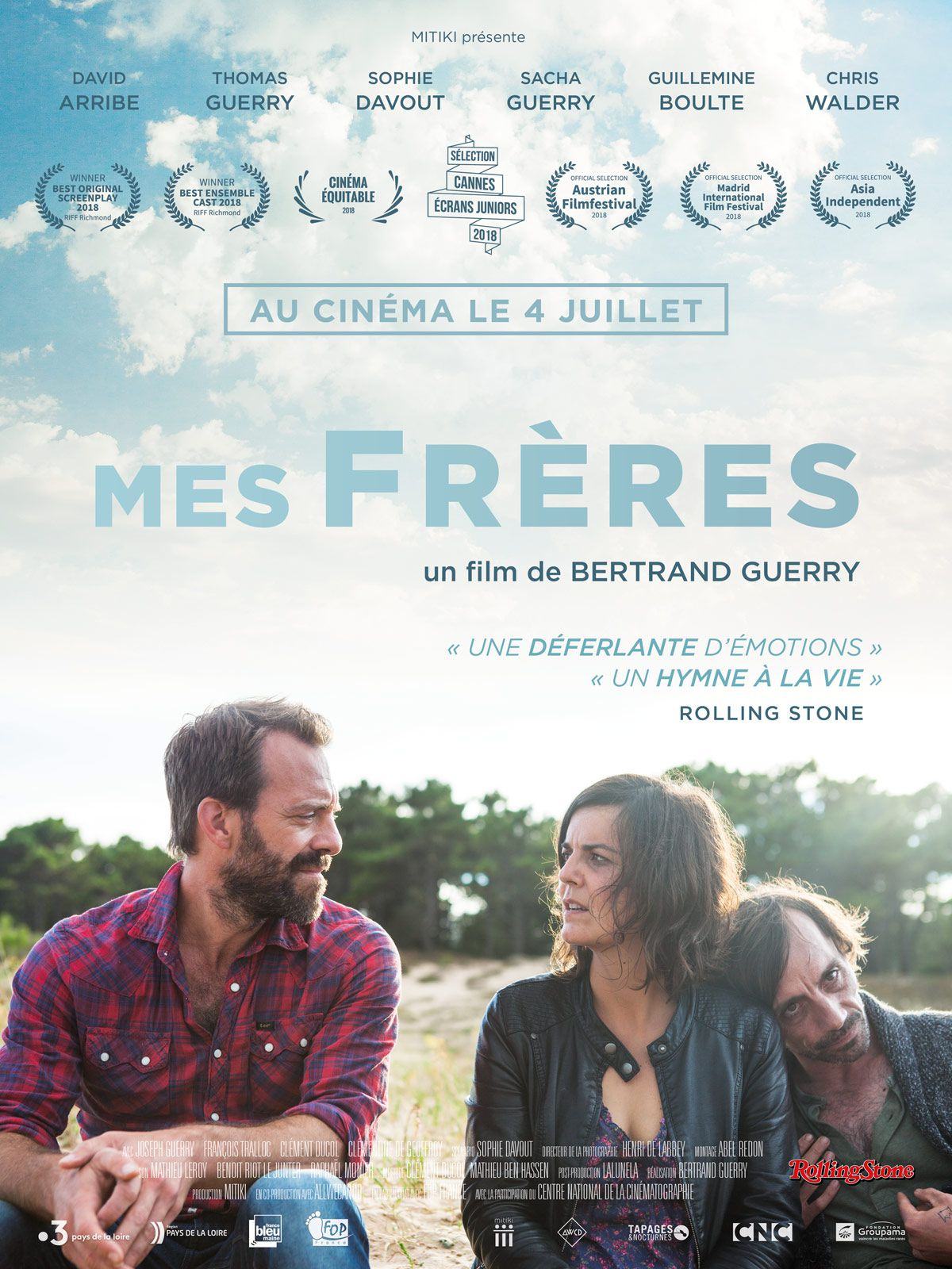 Mes frères - Film (2018)