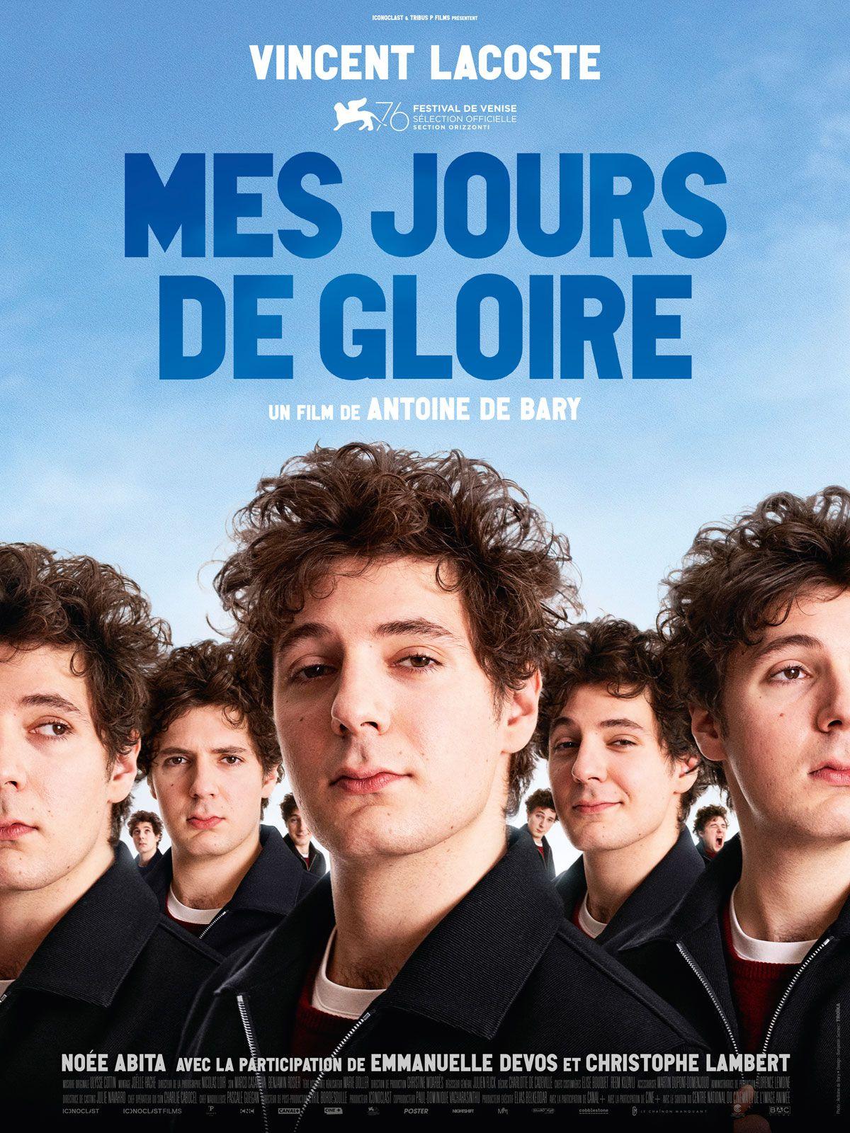Mes jours de gloire - Film (2020)