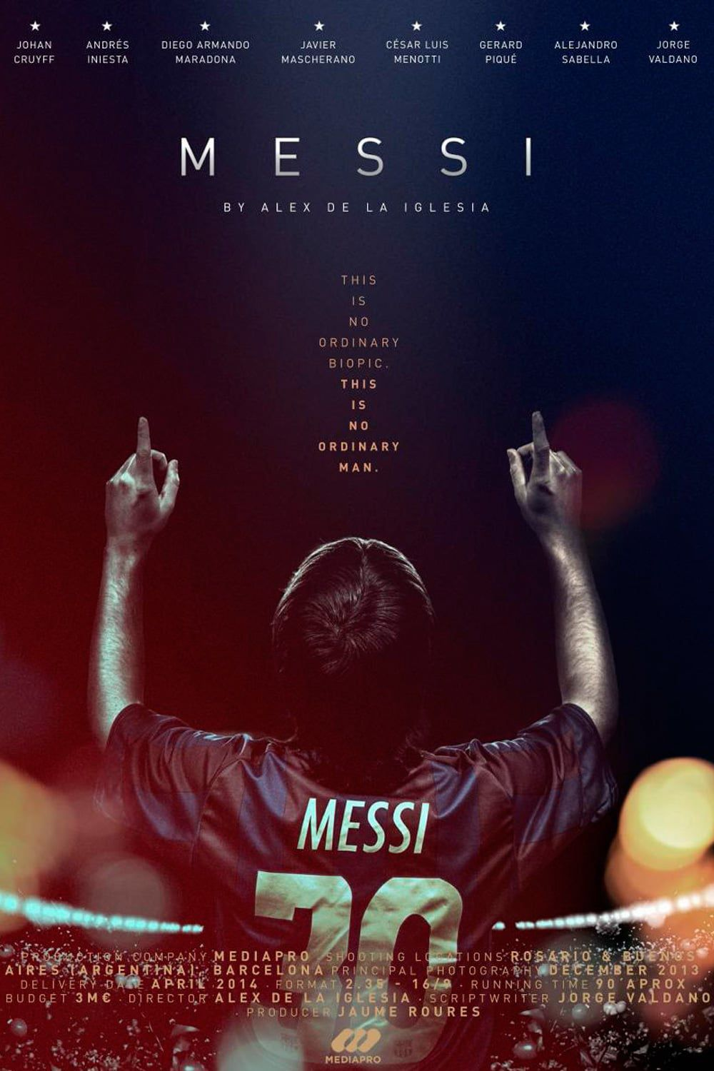 Messi - The movie - Documentaire (2014)
