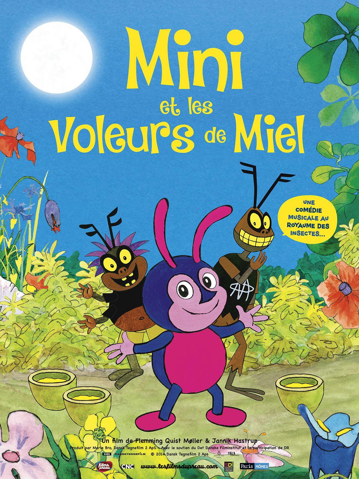 Mini et les voleurs de miel - Long-métrage d'animation (2016)