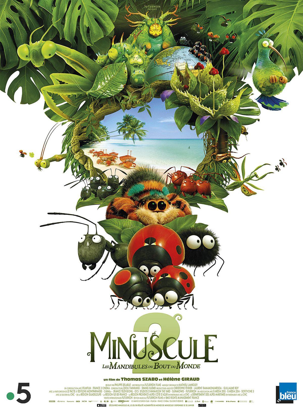 Minuscule 2 : Les Mandibules du Bout du Monde - Long-métrage d'animation (2019)