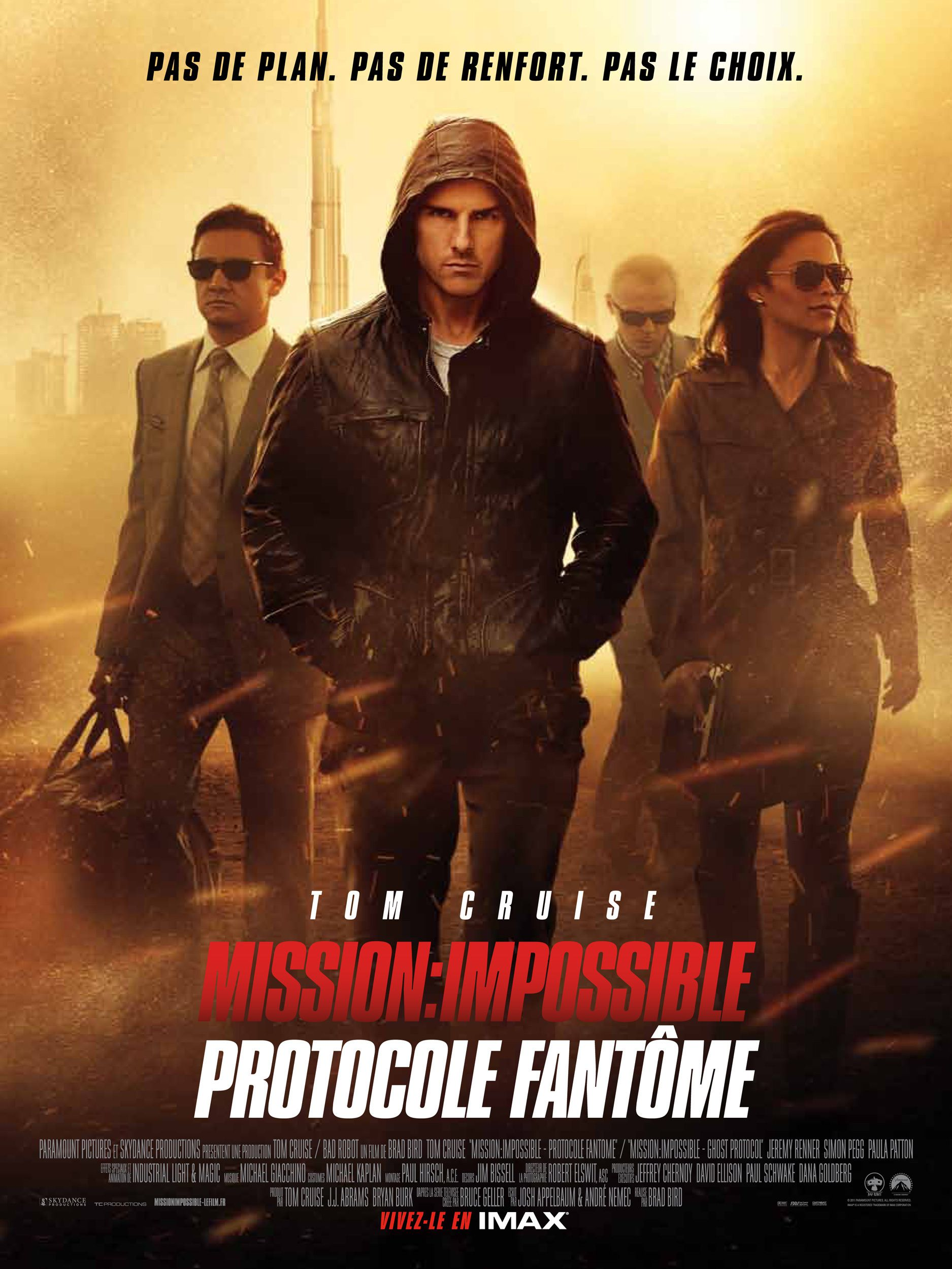 Mission : Impossible - Protocole fantôme - Film (2011)
