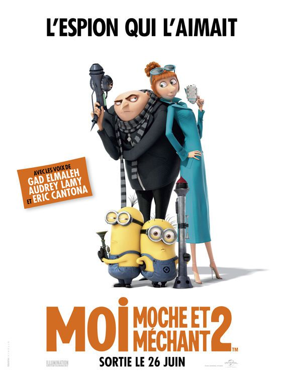 Moi, moche et méchant 2 - Long-métrage d'animation (2013)