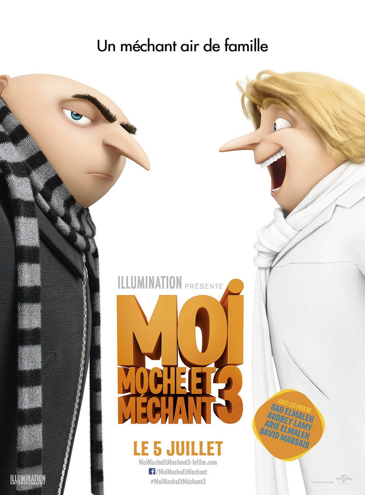 Moi, moche et méchant 3 - Long-métrage d'animation (2017)