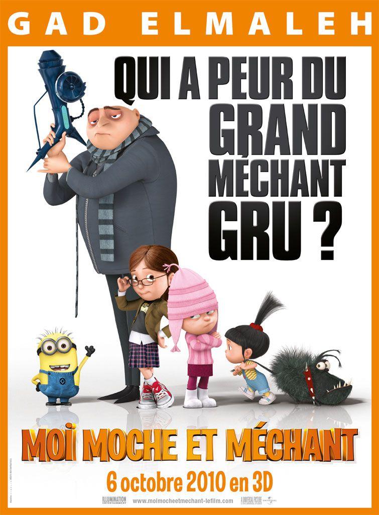 Moi, moche et méchant - Long-métrage d'animation (2010)