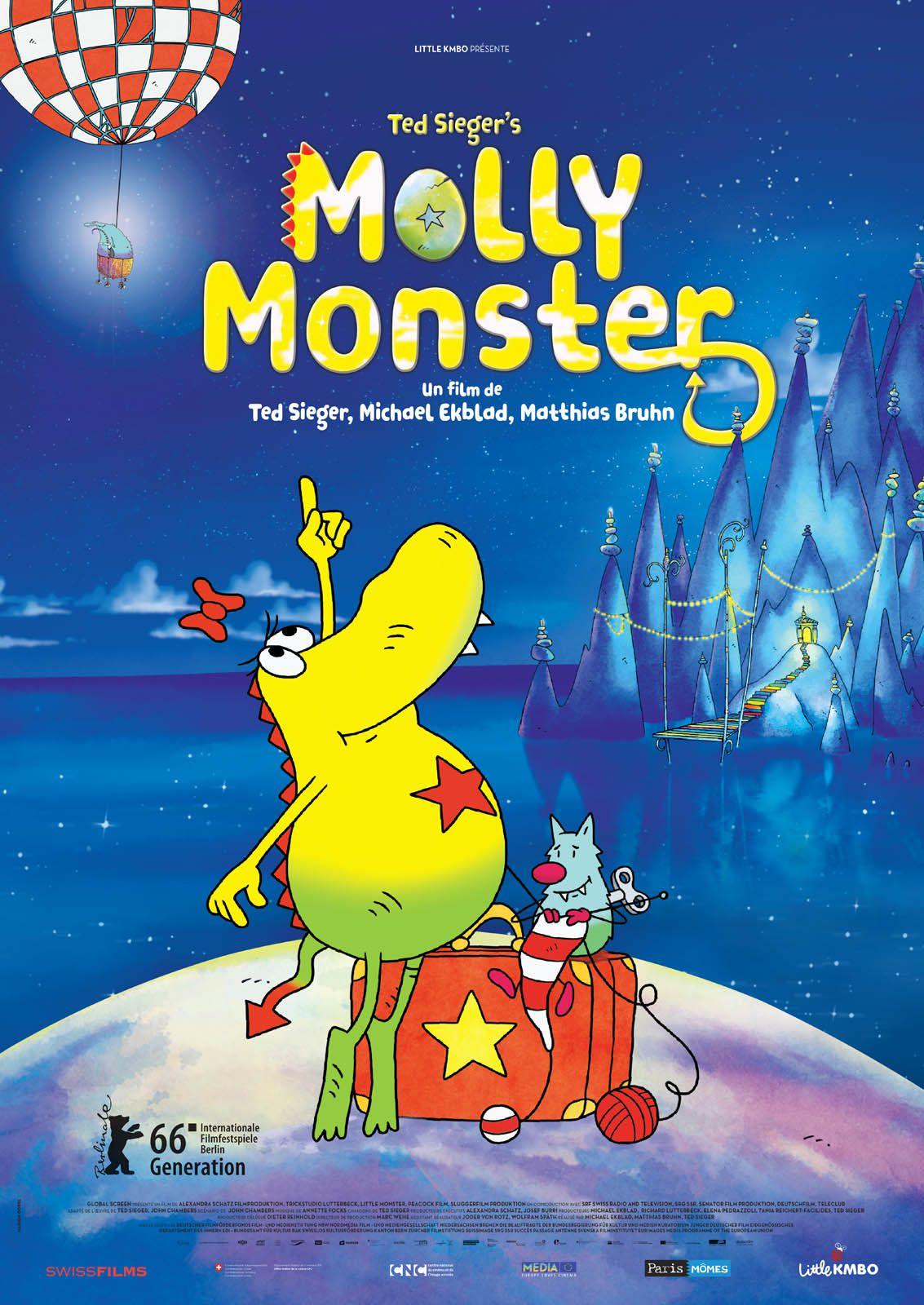 Molly Monster - Long-métrage d'animation (2017)