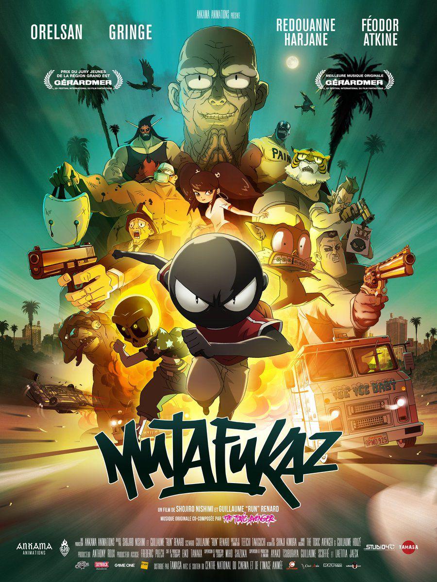 Mutafukaz - Long-métrage d'animation (2018)