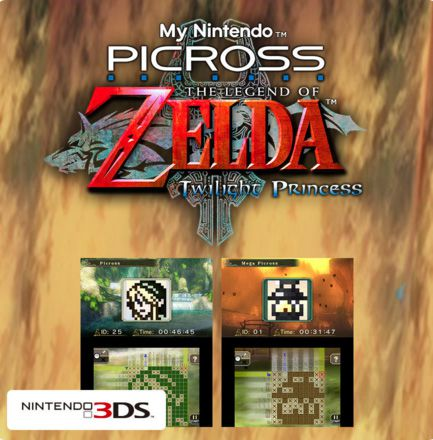 My Nintendo Picross - The Legend of Zelda : Twilight Princess (2016)  - Jeu vidéo