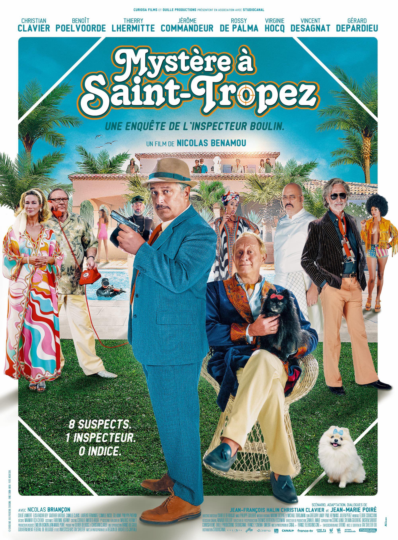 Mystère à Saint-Tropez - Film (2021)