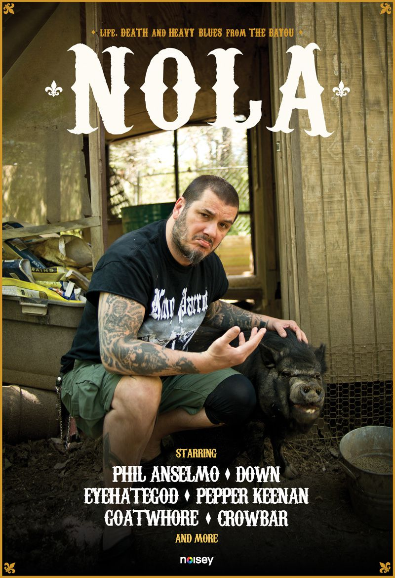 NOLA: Life, death, and heavy blues from the Bayou - Documentaire (2014)