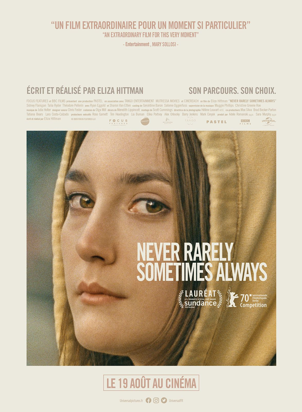 Never Rarely Sometimes Always - Film (2020)
