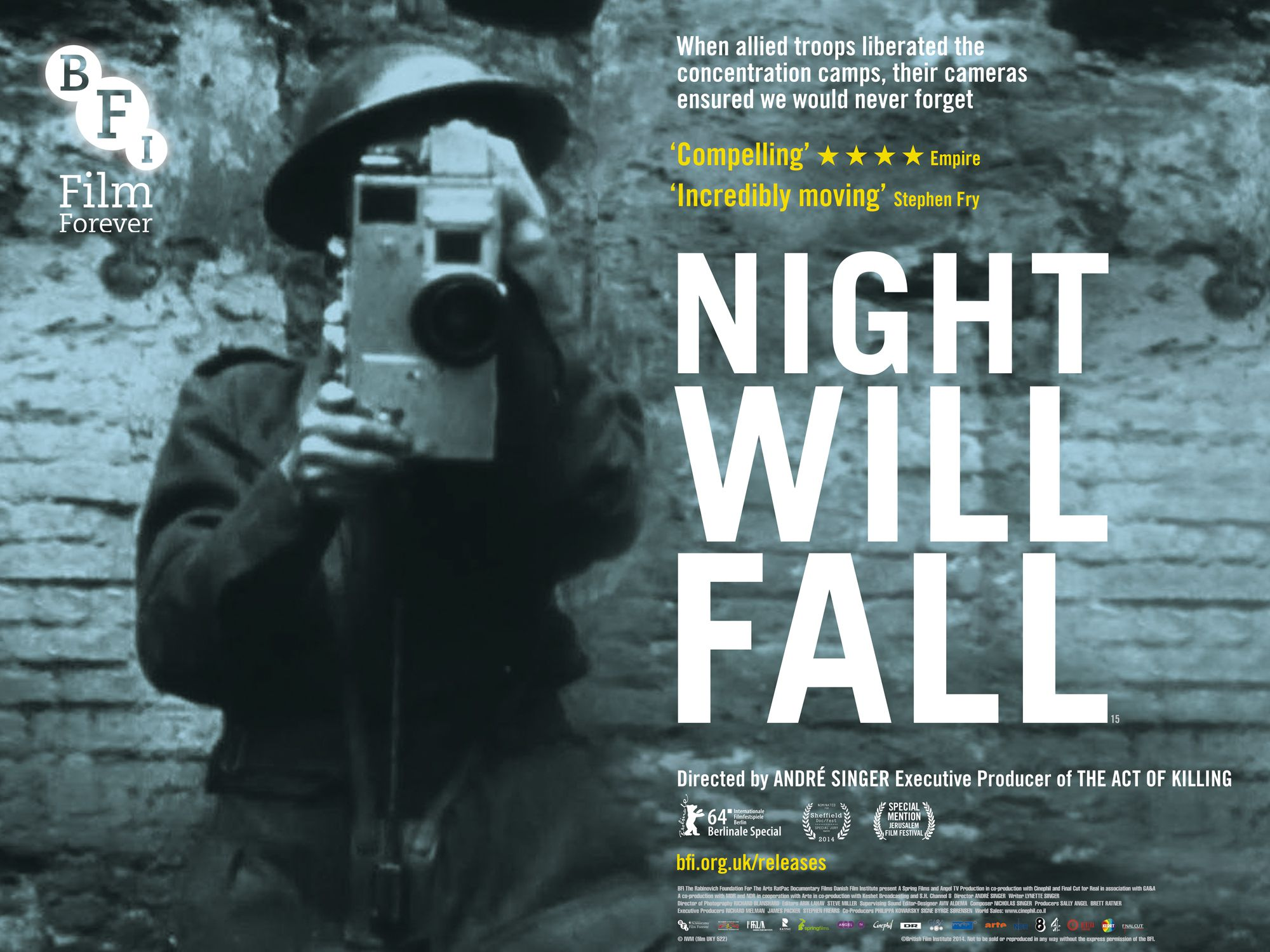 Night Will Fall - Documentaire (2014)