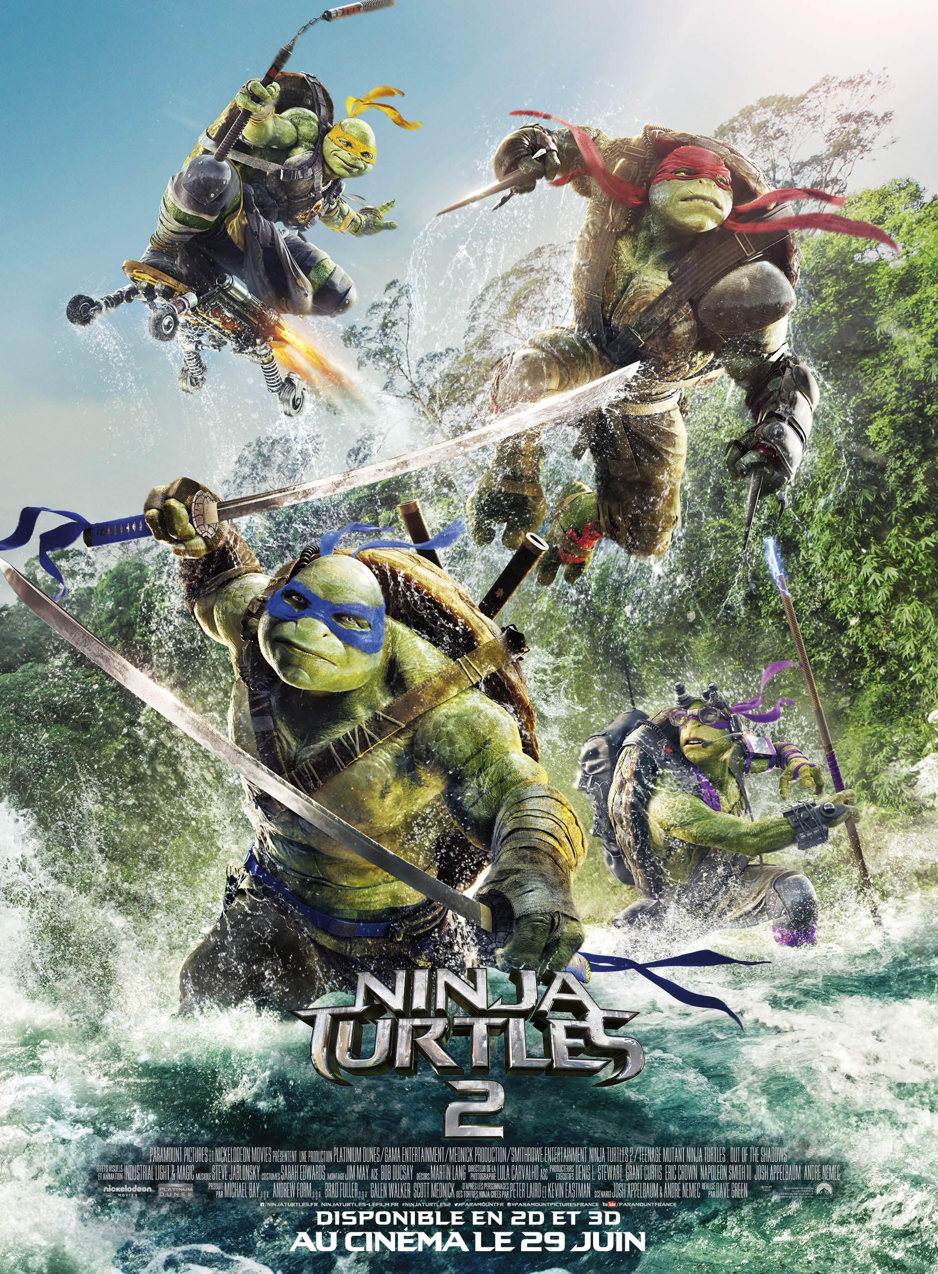 Ninja Turtles 2 - Film (2016)