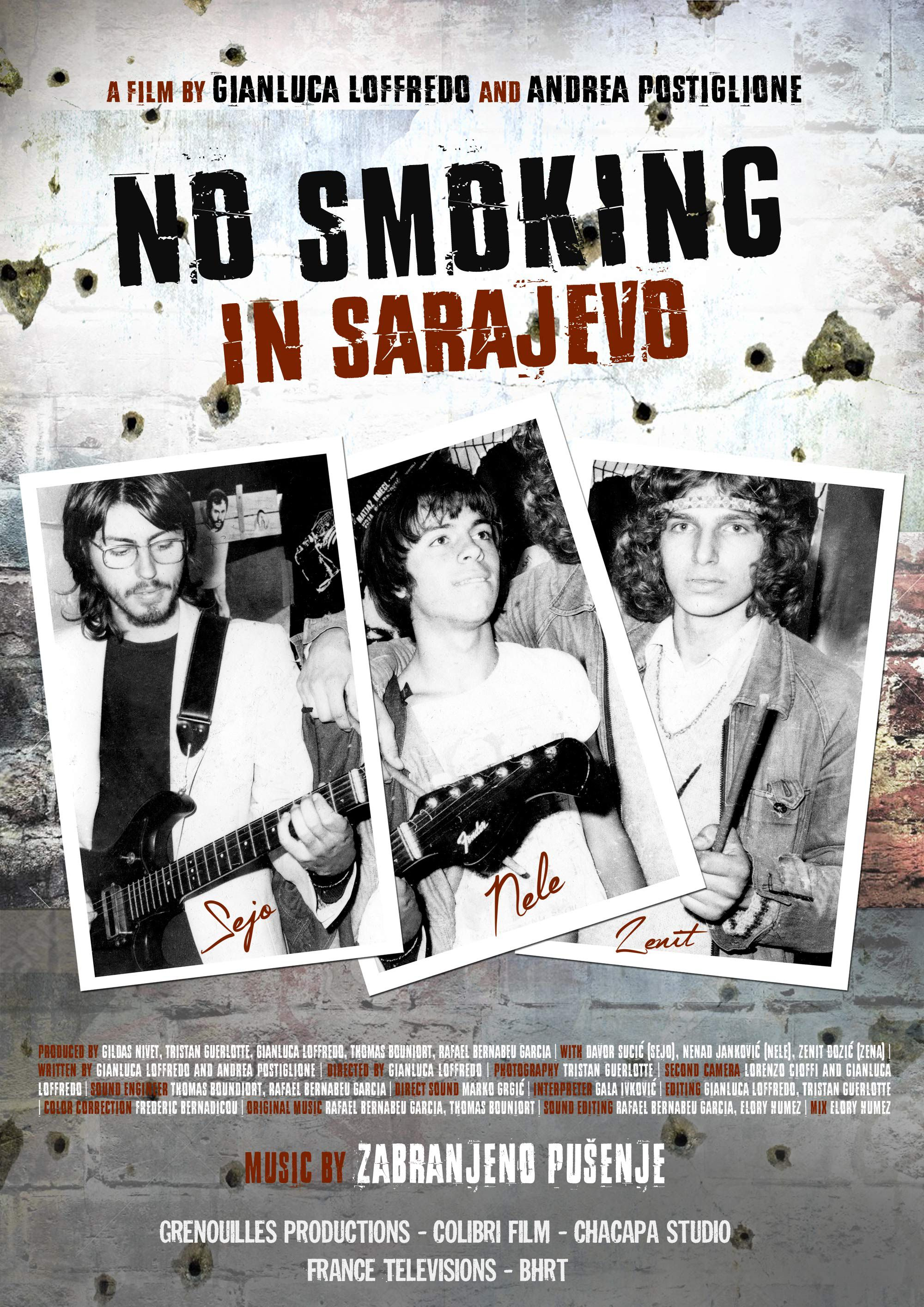 No Smoking in Sarajevo - Documentaire (2016)