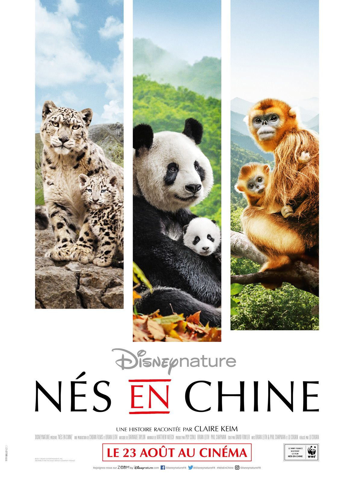 Nés en Chine - Documentaire (2017)