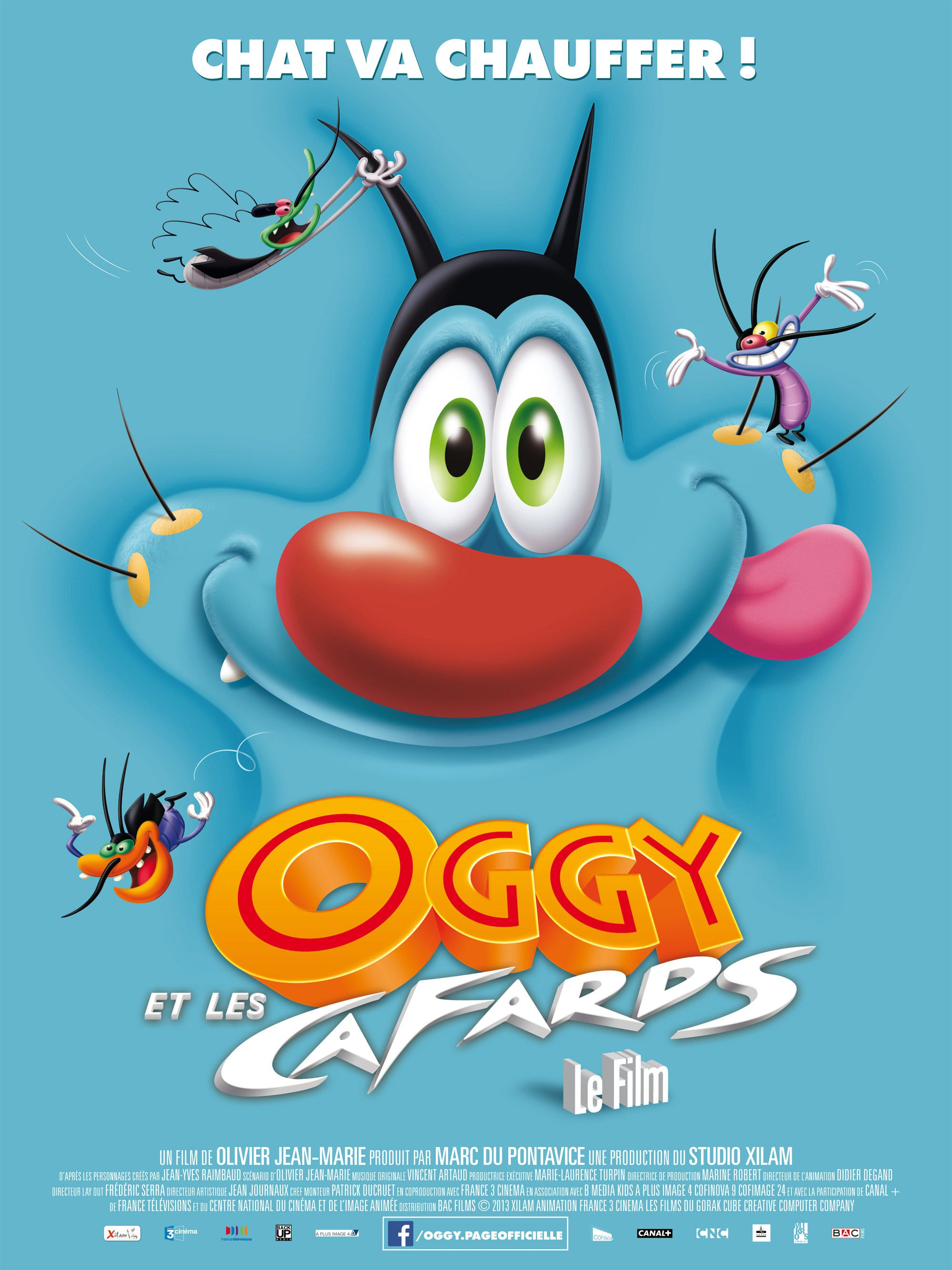 Oggy et les Cafards, le film - Long-métrage d'animation (2013)