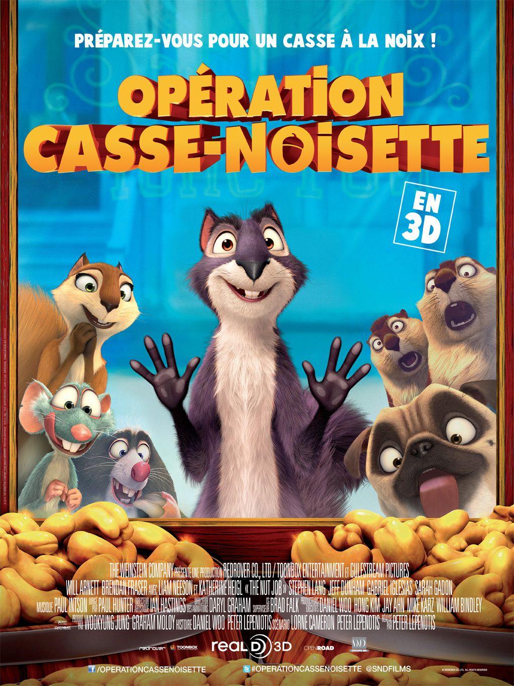 Opération Casse-noisette - Long-métrage d'animation (2014)