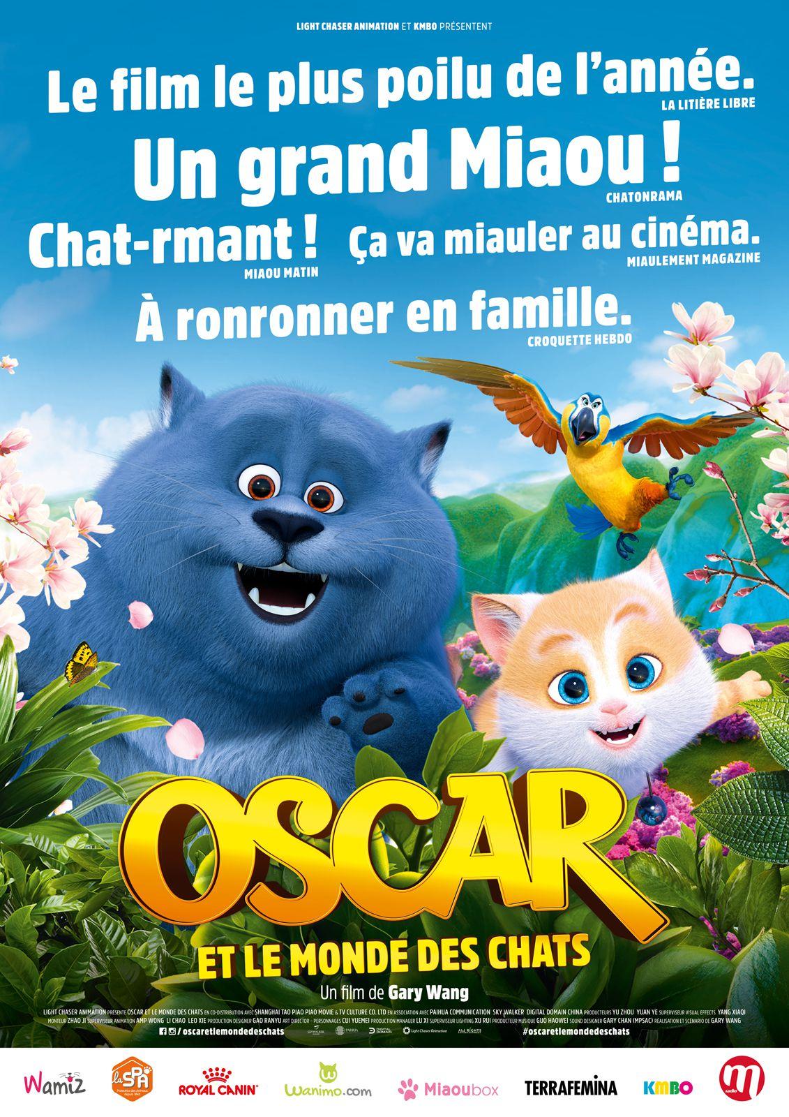 Oscar et le Monde des Chats - Film (2018)