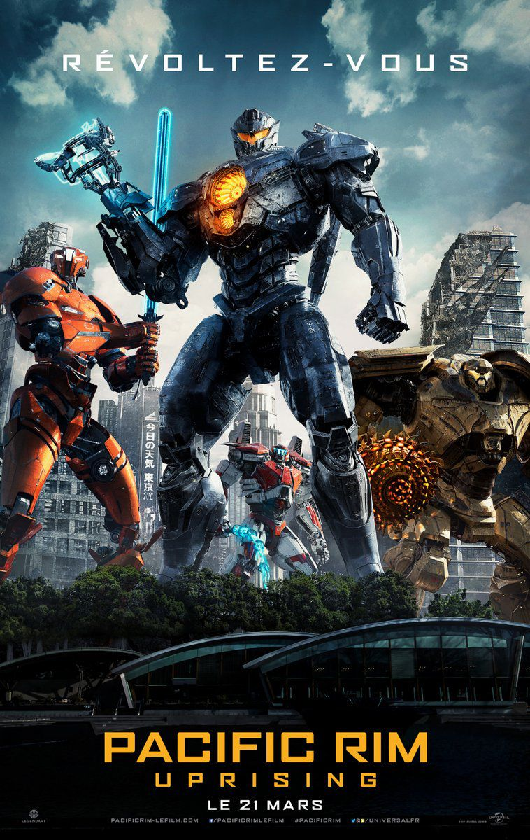 Pacific Rim : Uprising - Film (2018)
