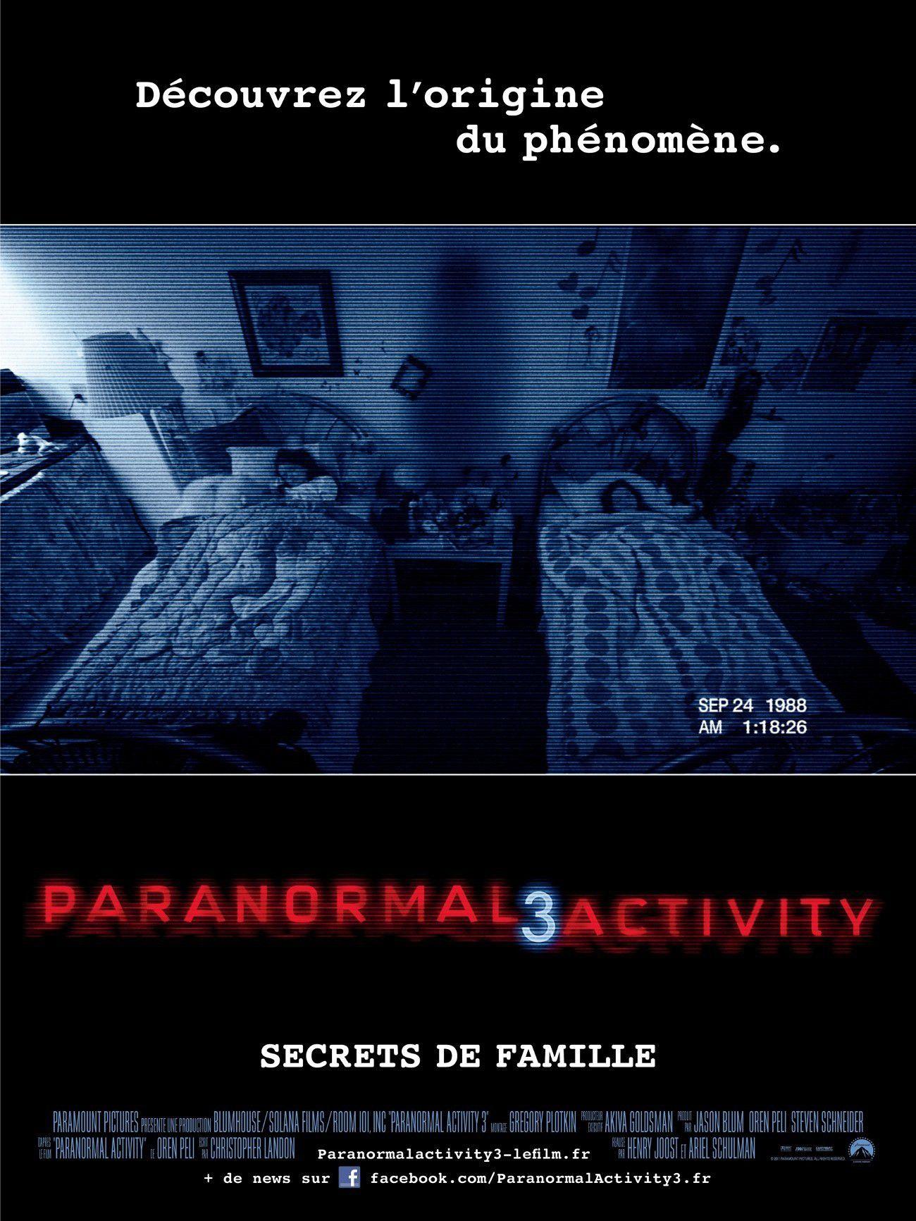 Paranormal Activity 3 - Film (2011)