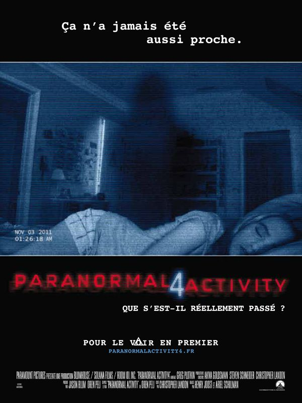 Paranormal Activity 4 - Film (2012)