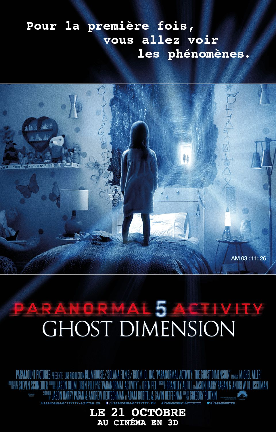 Paranormal Activity 5 : Ghost Dimension - Film (2015)